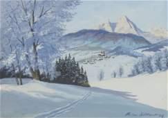 Philipp Gttert, Winterlandschaft / Winter Landscape,