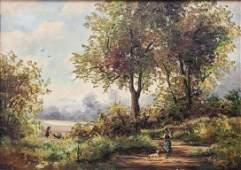 Guy de Simoni, Italienische Landschaft / Italian