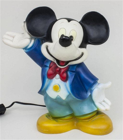Micky Maus-Lampe / Mickey Mouse Lamp, 1960er/70er Jahre - Apr 23 ...