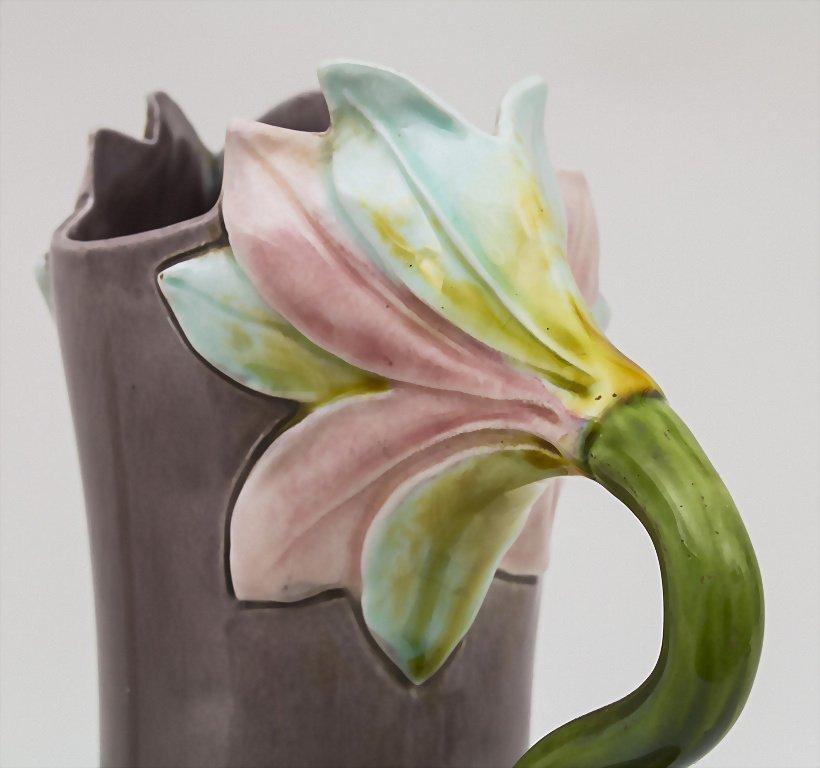 Vase mit Blütenhenkeln / Vase with Flower Handles, - 2