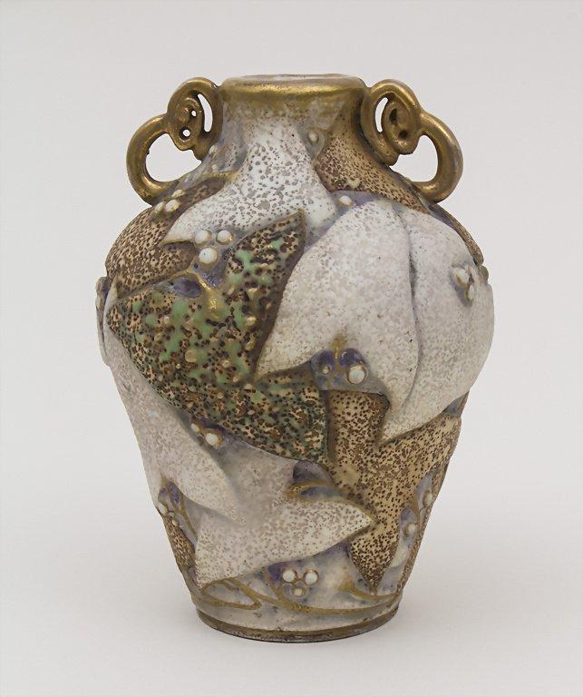 Jugendstil Vase / Art Nouveau Vase, Paul Dachsel, Turn