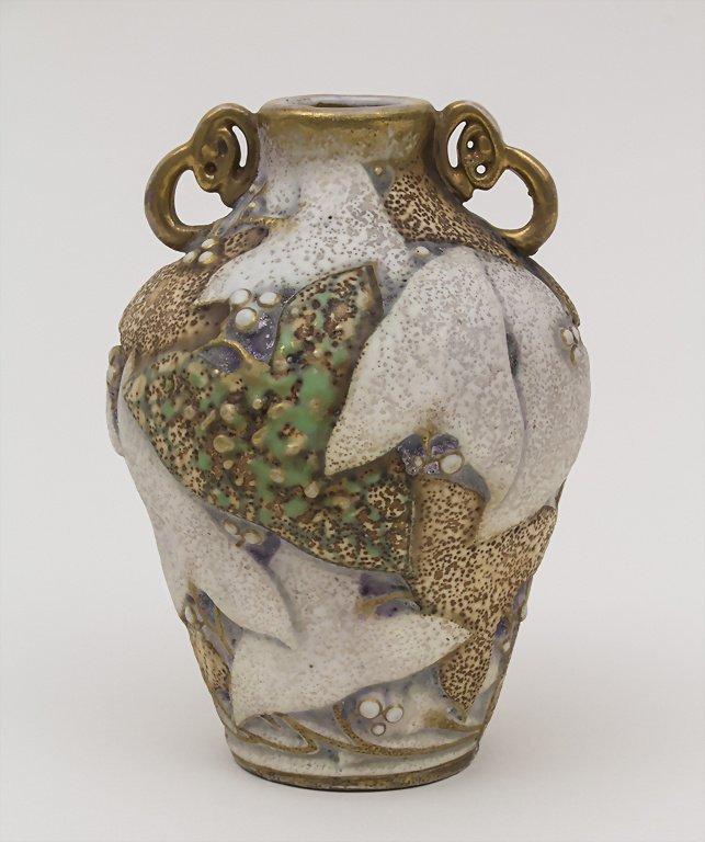 Jugendstil Vase / Art Nouveau Vase, Paul Dachsel, Turn - 2