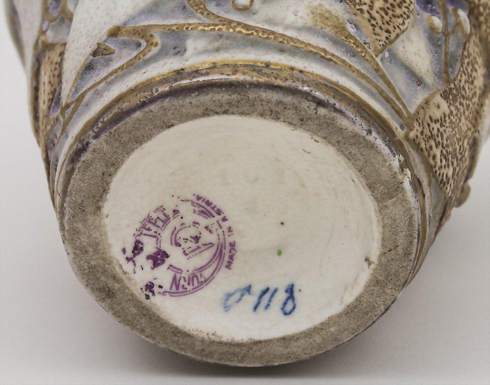 Jugendstil Vase / Art Nouveau Vase, Paul Dachsel, Turn - 3