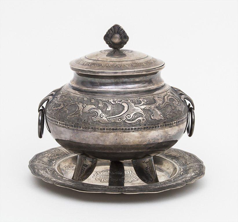 Koro-Gefäß, Vietnam, 1920er Jahre Material: bauchiges