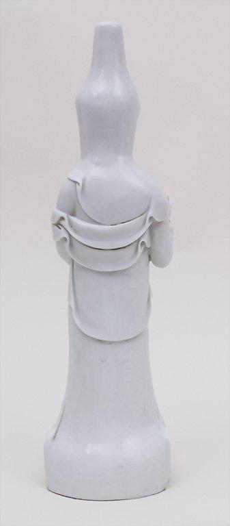 Blanc de Chine Buddha, China, 18./19. Jh. Material: - 2