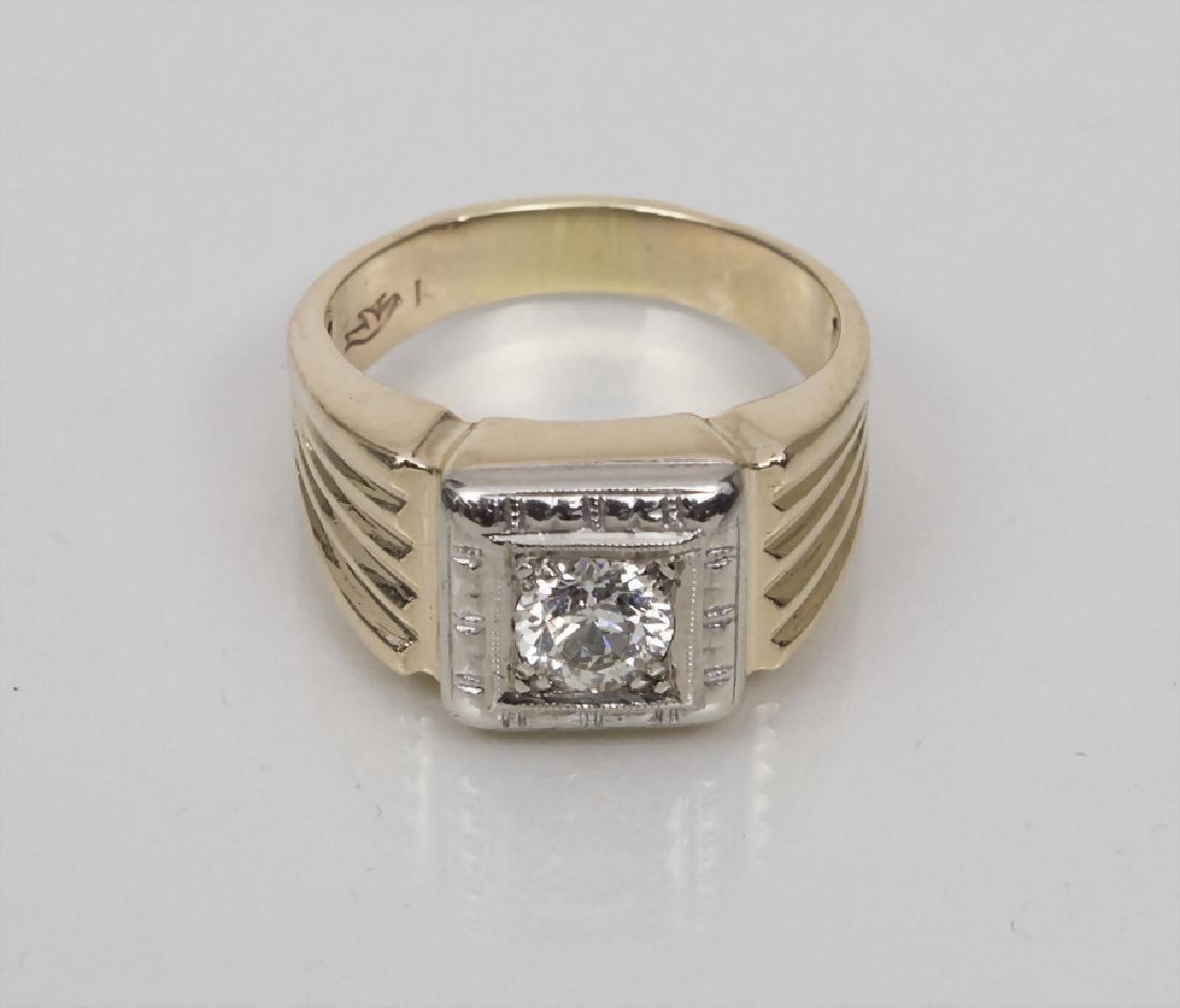 Damenring mit Diamant / A Ladies Ring with Diamond