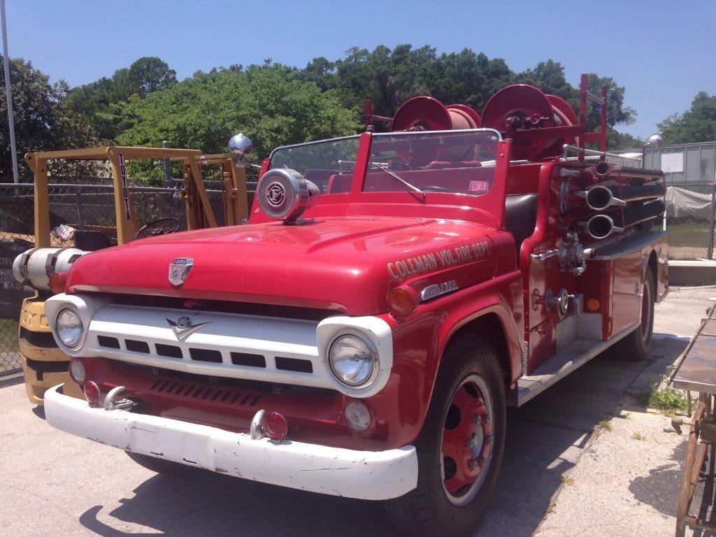 1957 Ford F-600 Fire Truck