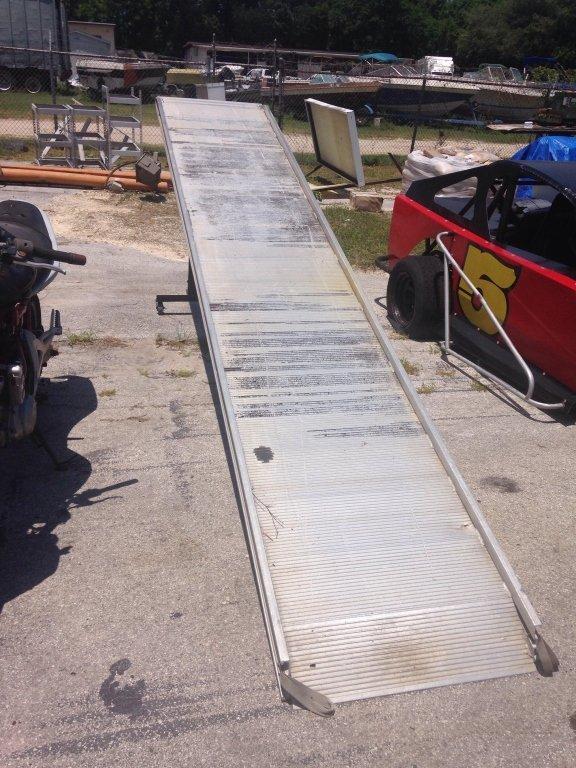Aluminum Loading Walk Ramp