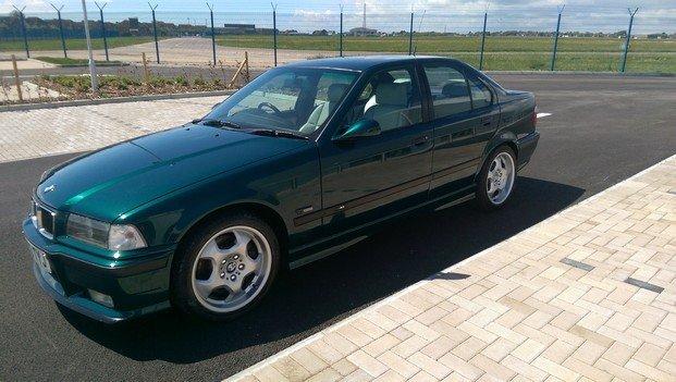 1996 BMW E36 M3 Evo 4dr Saloon (Ex Top Gear) - 8