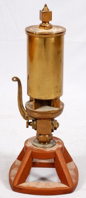 BRASS STEAM POWERED WHISTLE