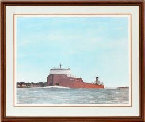 JIM CLARY PENCIL SIGNED COLOR PRINT #565/750
