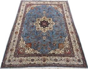 PERSIAN HAND WOVEN WOOL CARPET
