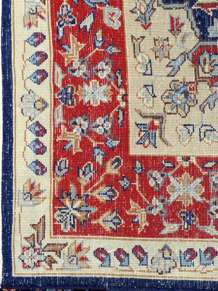PERSIAN HAND WOVEN WOOL RUG - 2