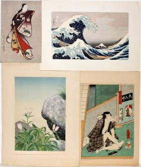 JAPANESE WOOD BLOCK PRINTS FOUR