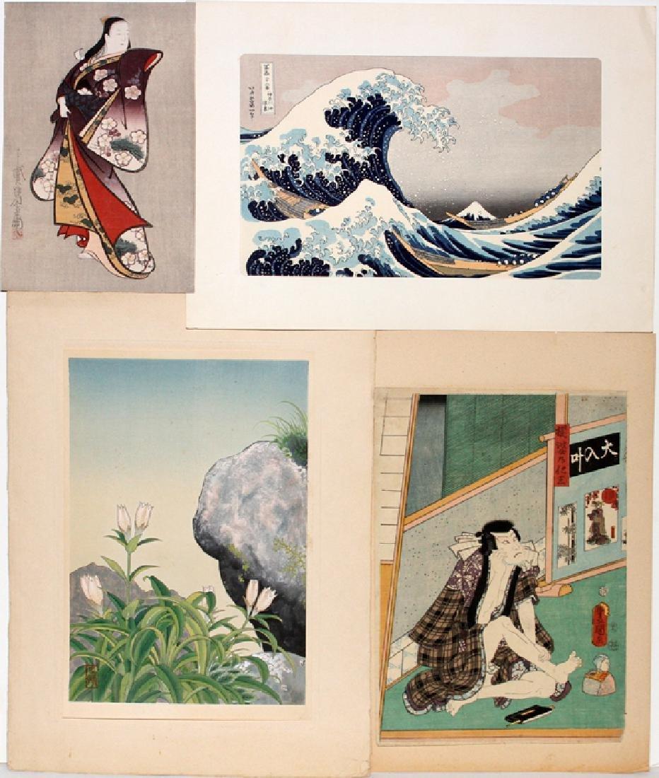 JAPANESE WOOD BLOCK PRINTS FOUR