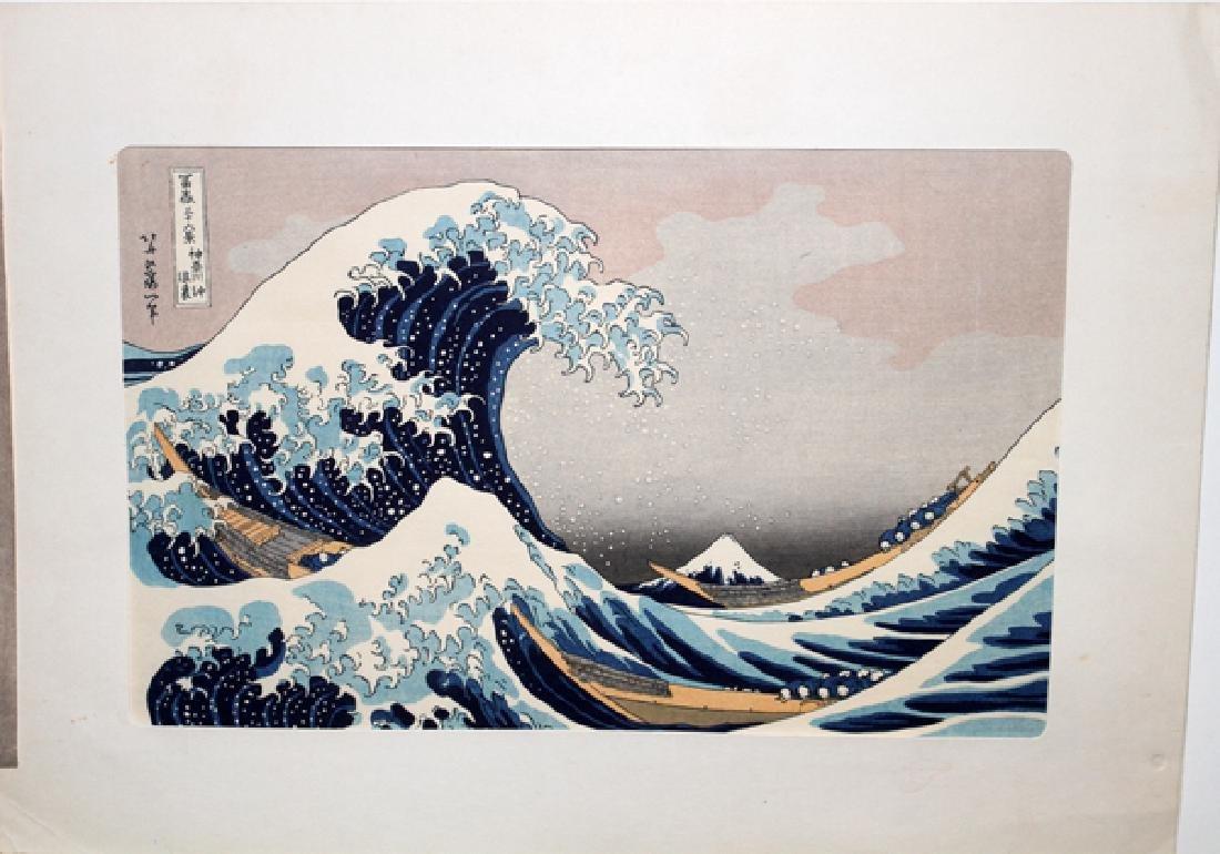 JAPANESE WOOD BLOCK PRINTS FOUR - 2