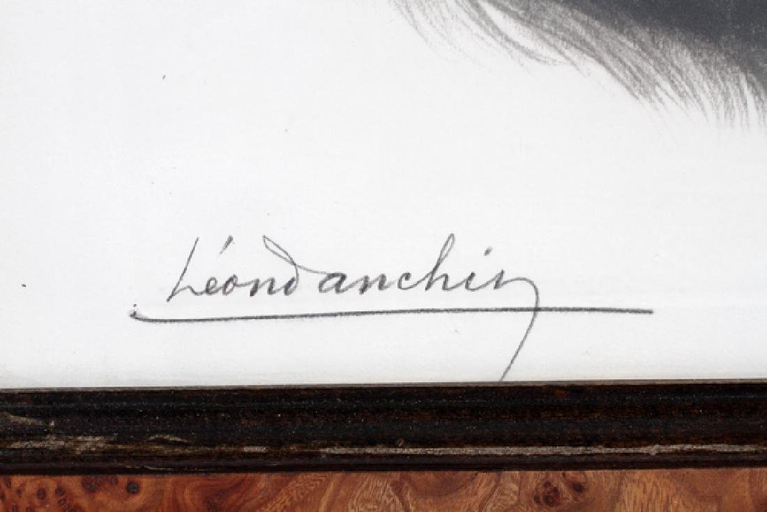 LEON DANCHIN ORIGINAL ETCHING - 4