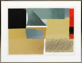 ARNOLD HOFFMAN JR. ABSTRACT COLOR PRINT