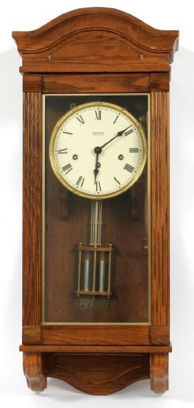 NEW ENGLAND CLOCK CO. HANGING WALL CLOCK