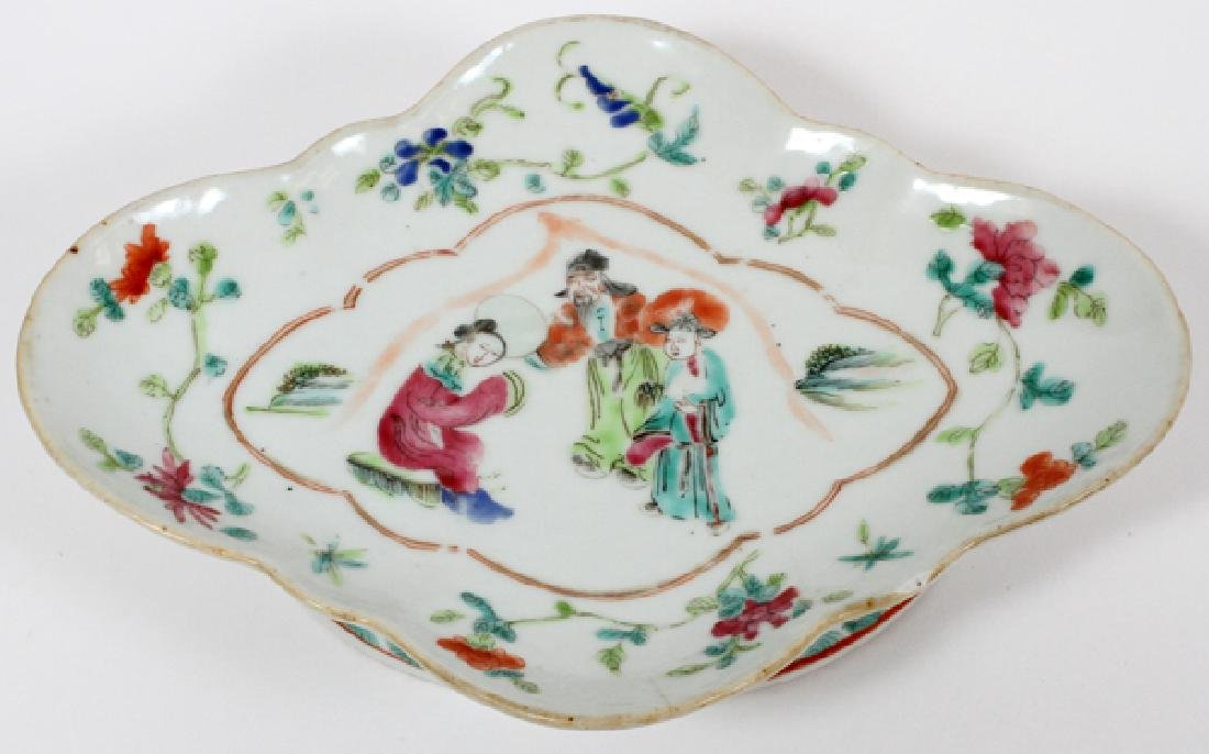 CHINESE PORCELAIN COMPOTE