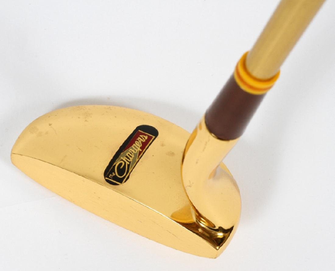 24KT GOLD PLATED PUTTER