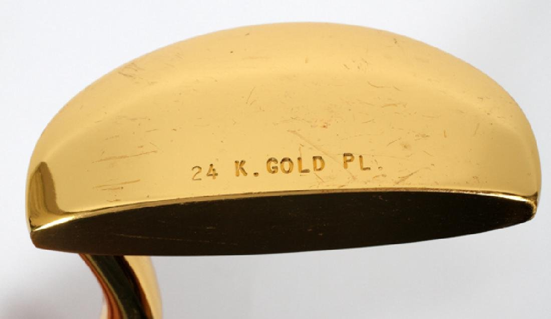 24KT GOLD PLATED PUTTER - 2
