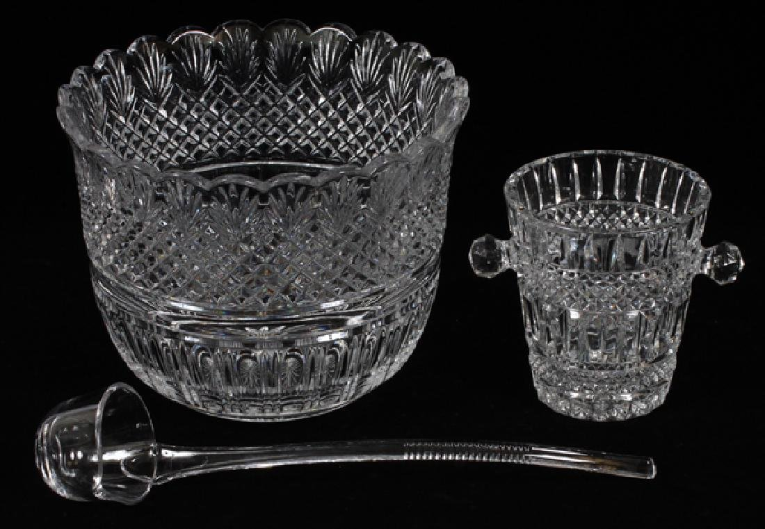 CRYSTAL PUNCH BOWL & ICE PAIL 2 - 2