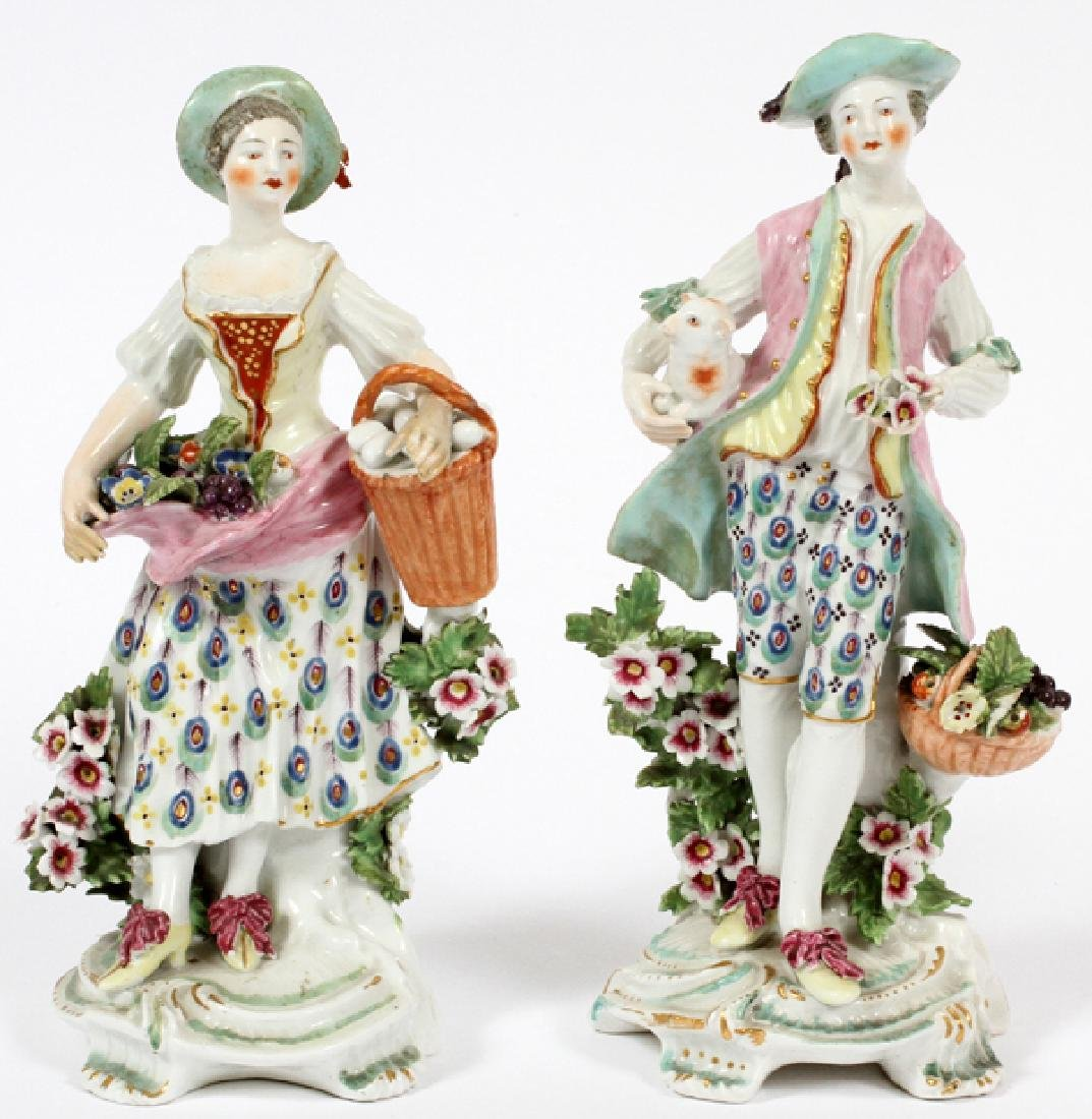 GERMAN PORCELAIN FIGURES