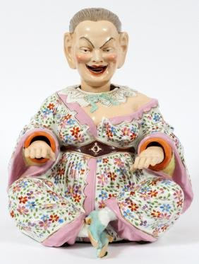 GERMAN PORCELAIN NODDER