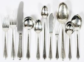 TOWLE 'LADY DIANA' STERLING FLATWARE 93 PIECES