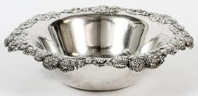 TIFFANY & CO. STERLING SILVER FRUIT BOWL C.1900