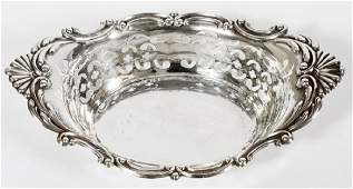 GORHAM FOR CARTIER STERLING SILVER BOWL