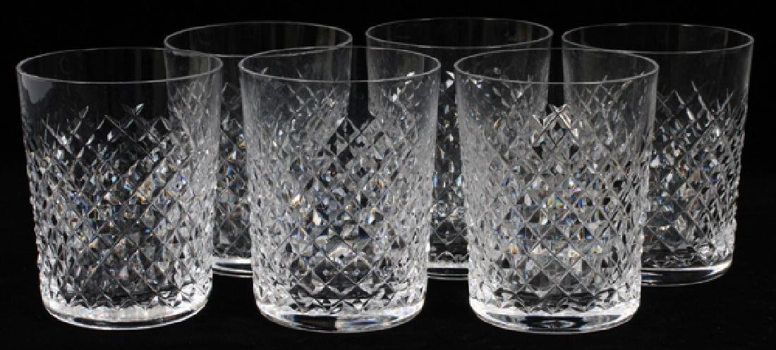 WATERFORD ALANA CRYSTAL OLD FASHIONED GLASSES