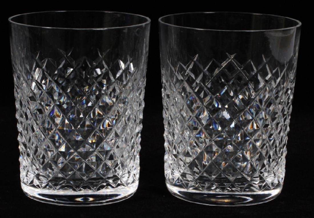 WATERFORD ALANA CRYSTAL OLD FASHIONED GLASSES - 2