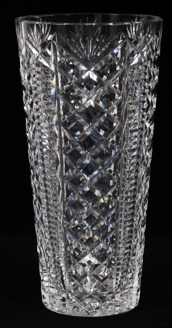 WATERFORD CRYSTAL VASE - 2