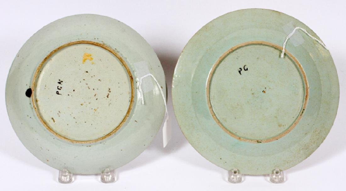 CHINESE EXPORT PORCELAIN BOWL AND PLATE 18TH.C. - 2