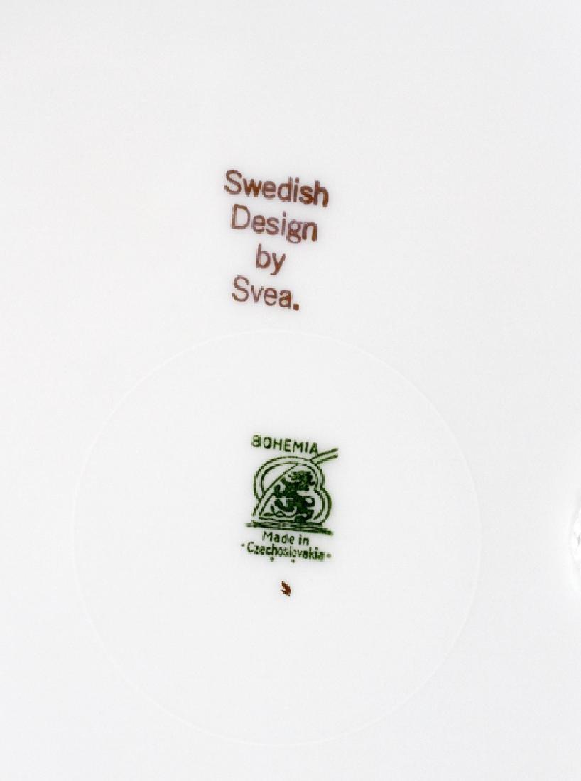 SVEA SWEDISH DESIGN BOHEMIA PORCELAIN PLATES - 2