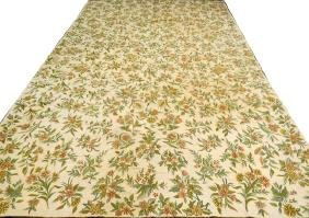 INDIAN HANDMADE AUBUSSON CARPET