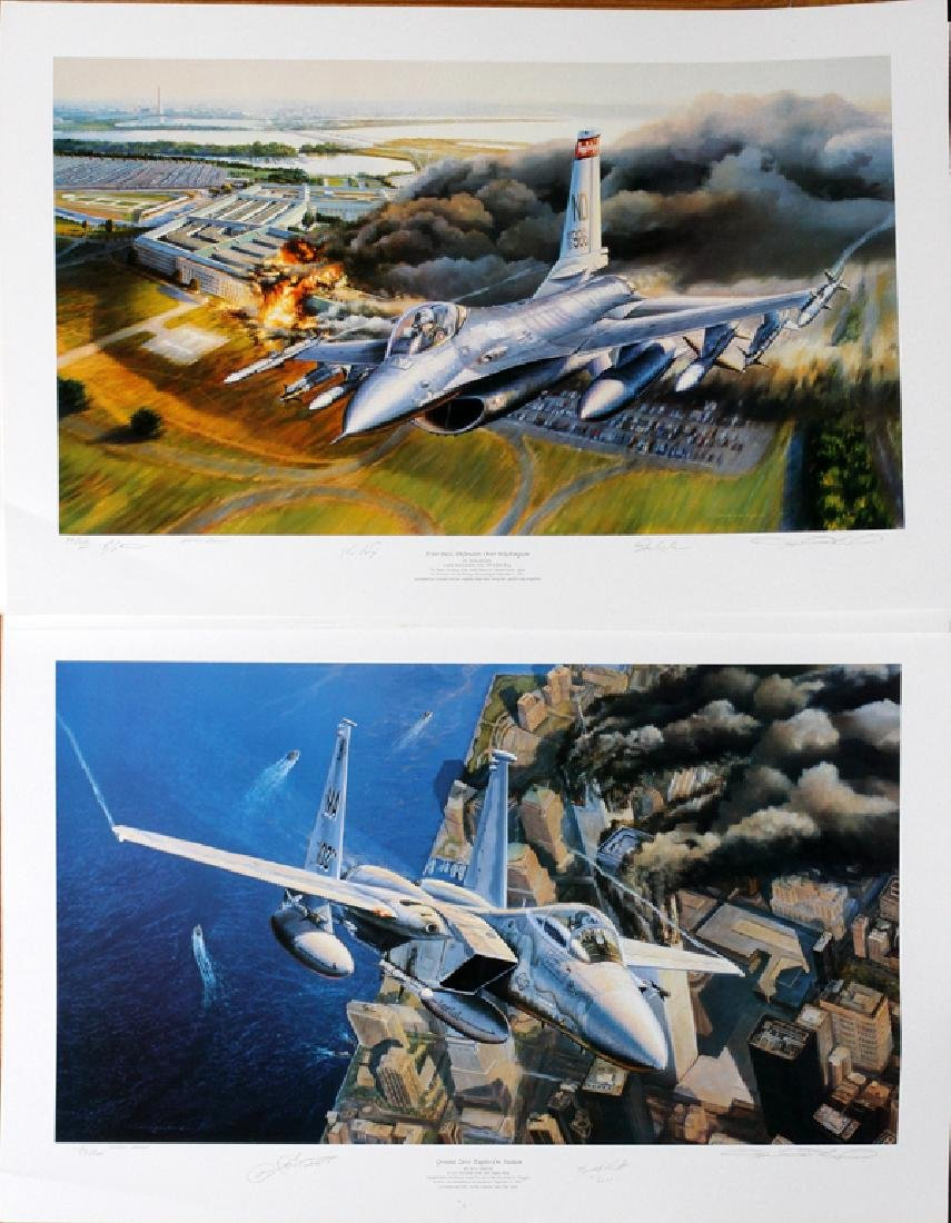 RICK HERTER ARTIST PROOF FIGHTER JETS - 2