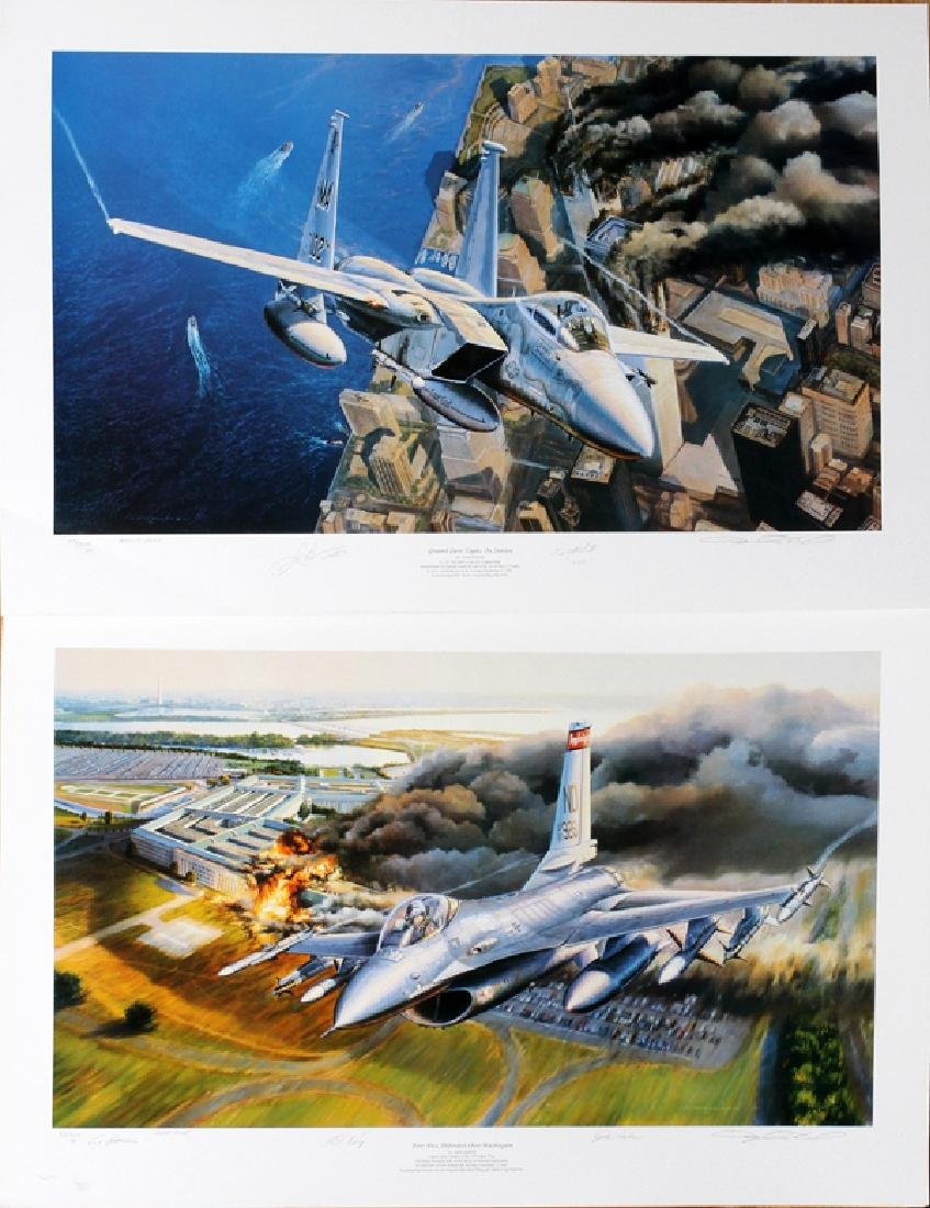 RICK HERTER ARTIST PROOF FIGHTER JETS - 3