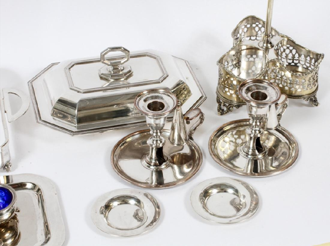 SILVERPLATE TABLEWARE 12 PIECES - 2