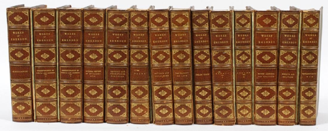 A COLLECTION OF RALPH WALDO EMERSON WORKS 1883