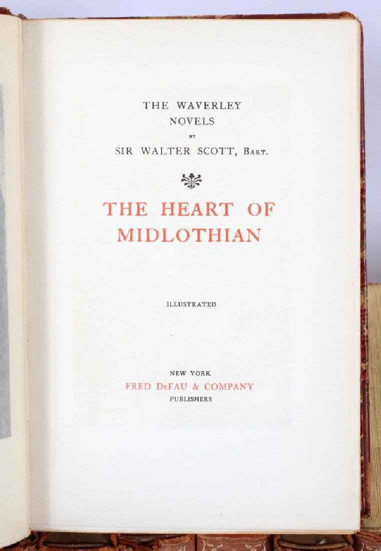 SIR WALTER SCOTT THE WAVERLY NOVELS  EARLY 20TH C. - 2