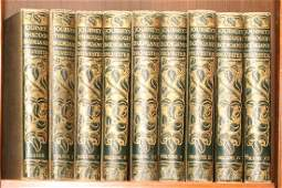 TWO LITERATURE ANTHOLOGIES EARLY 20TH C. 23 VOLUMES