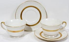 THEODORE HAVILAND EMBASSY TEA CUPS AND SAUCERS