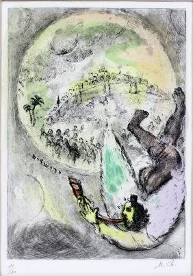 MARC CHAGALL ETCHING