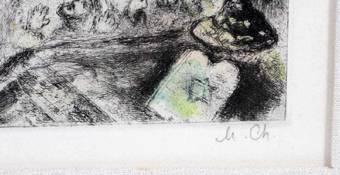 MARC CHAGALL ETCHING - 3