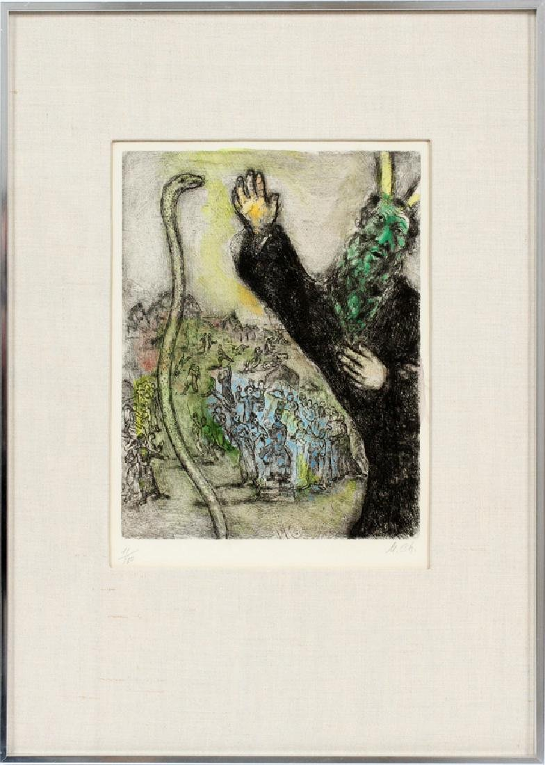 MARC CHAGALL ETCHING - 2