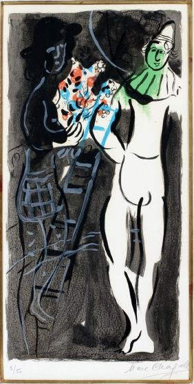 MARC CHAGALL COLOR LITHOGRAPH