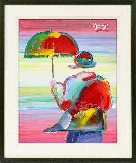 PETER MAX OIL ON CANVAS
